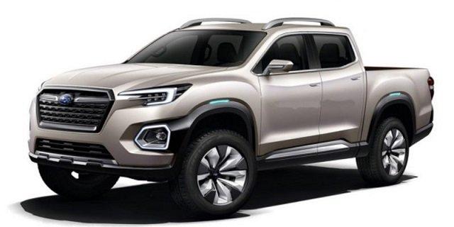 2021 Subaru Pickup Truck Comes On A New Platform