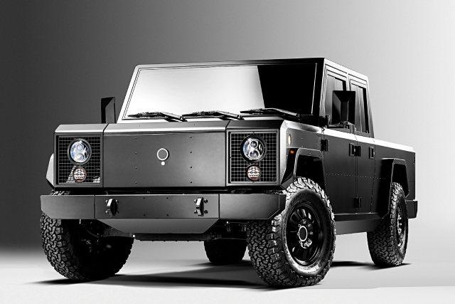 2021 Bollinger B2 All-Electric Truck