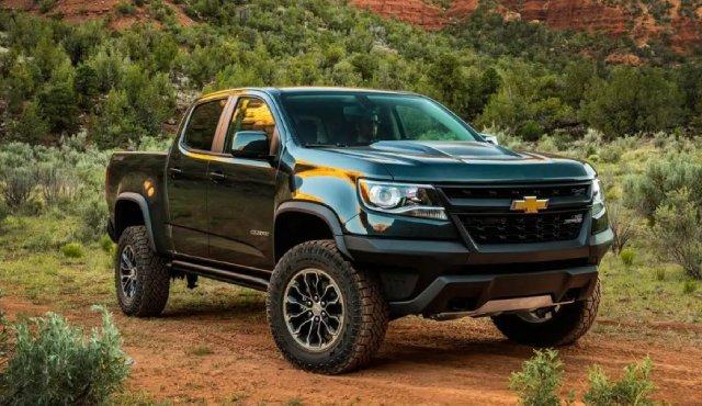 2021 Chevrolet Colorado Exterior Updates