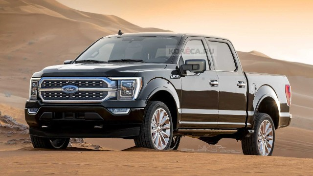 2021 ford f150 hybrid release date redesign  2021