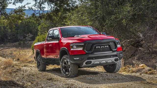 2021 Ram 1500 Rebel TRX design
