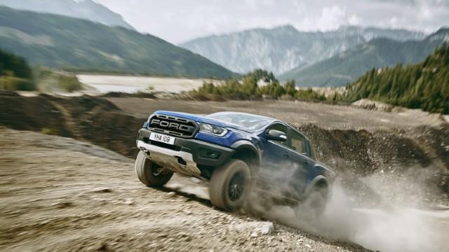 2021 Ford Ranger Raptor off-road