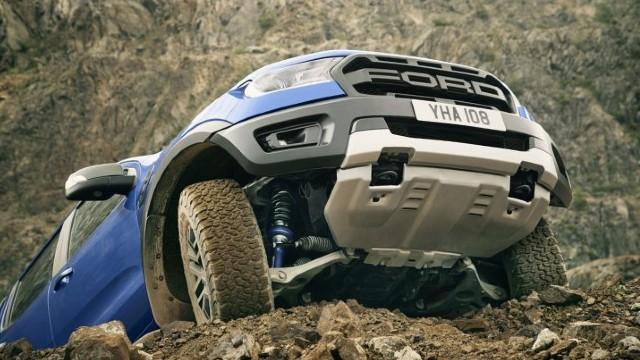 2021 Ford Ranger Raptor suspension