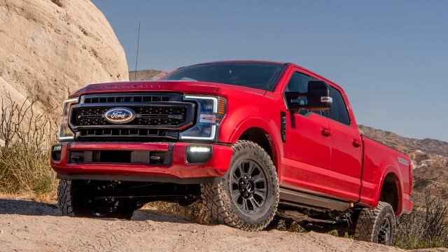 2021 Ford Super Duty changes