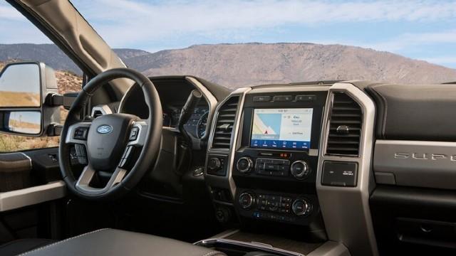 2021 Ford Super Duty interior