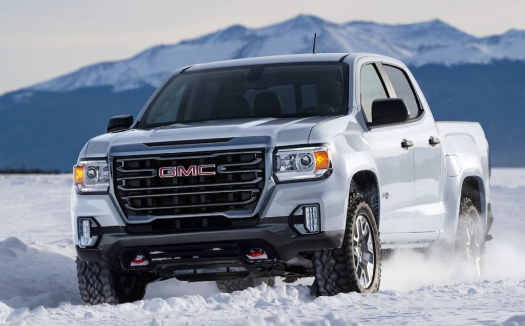 2021 GMC Canyon AT4 release date