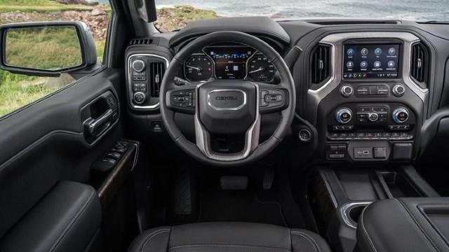 2021 GMC Sierra 1500 interior