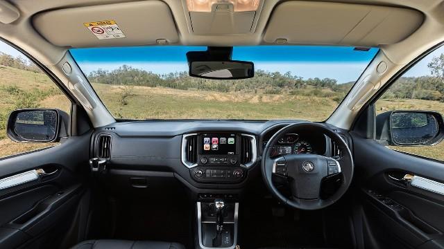 2021 Holden Colorado interior