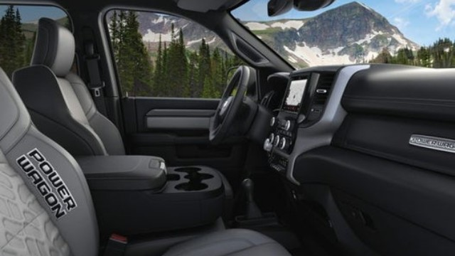 2021 Ram 2500 Power Wagon interior