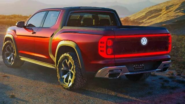 2021 VW Atlas rear
