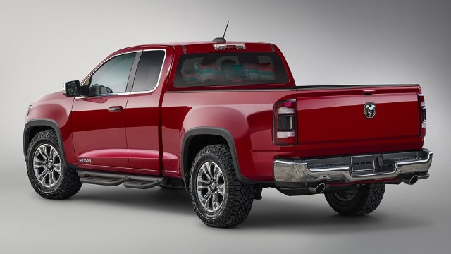 2022 Ram Dakota design