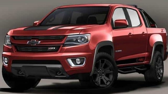 2021 Chevrolet S10 rendered