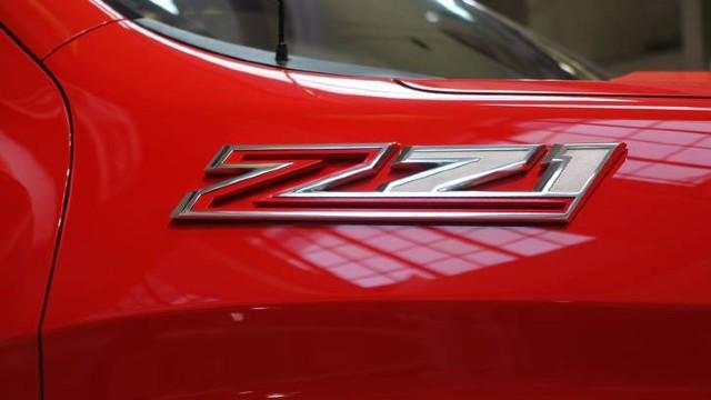 2021 Chevy Colorado Z71 badge
