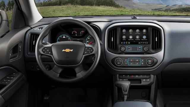 2021 Chevy Colorado Z71 interior