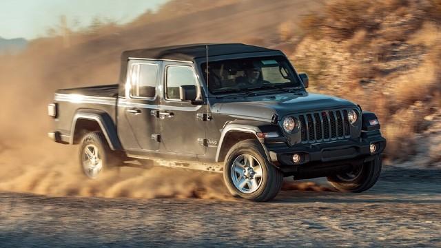 2021 Jeep Gladiator Sport facelift