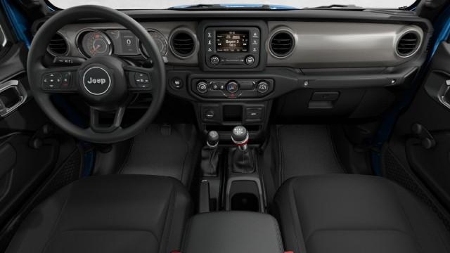 2021 Jeep Gladiator Sport interior
