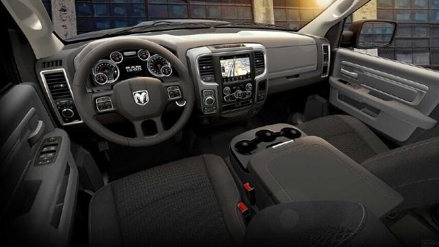 2021 Ram 1500 Classic interior