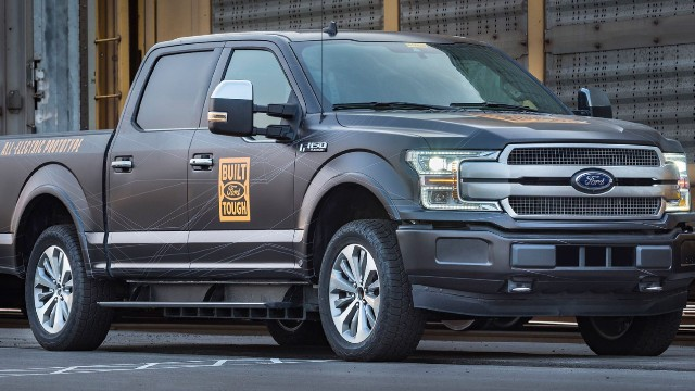 2022 Ford F-150 Electric design