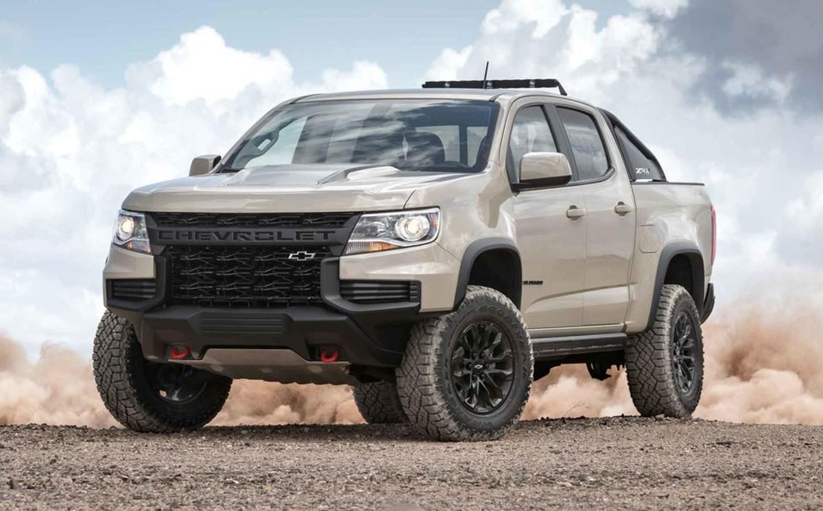 2021 Chevrolet Colorado ZR2 Gets Fresh Mechanical Upgrades ...