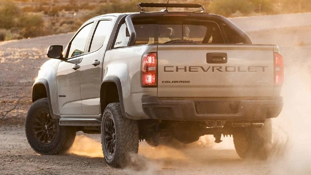 2021 Chevrolet Colorado ZR2 specs
