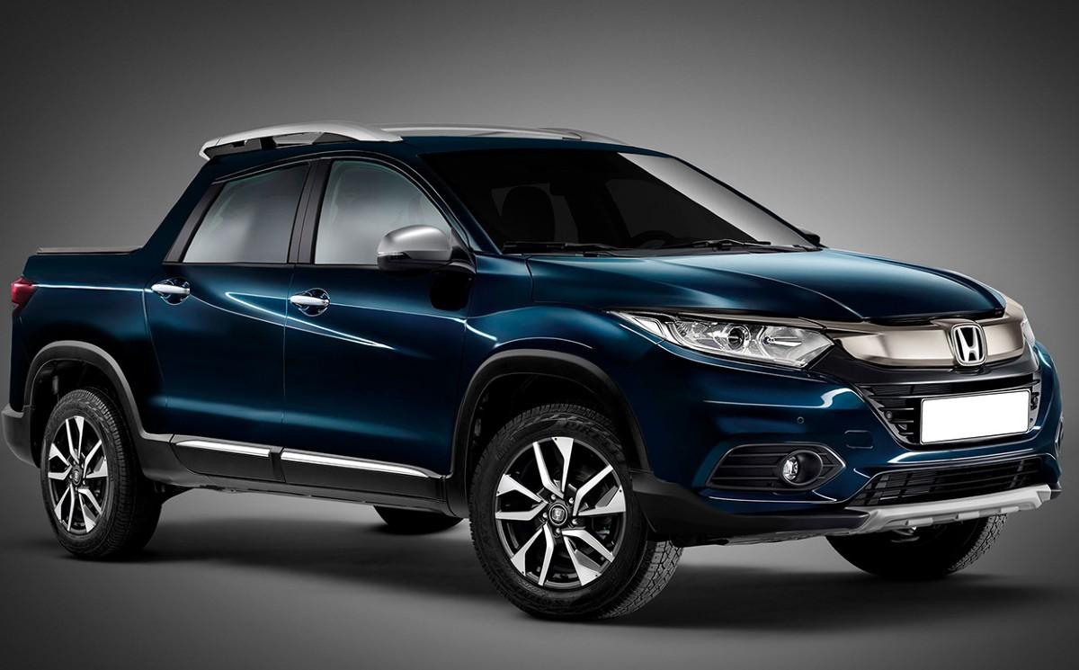 2021 Honda Pickup Truck Based On The HR-V Model Coming ...