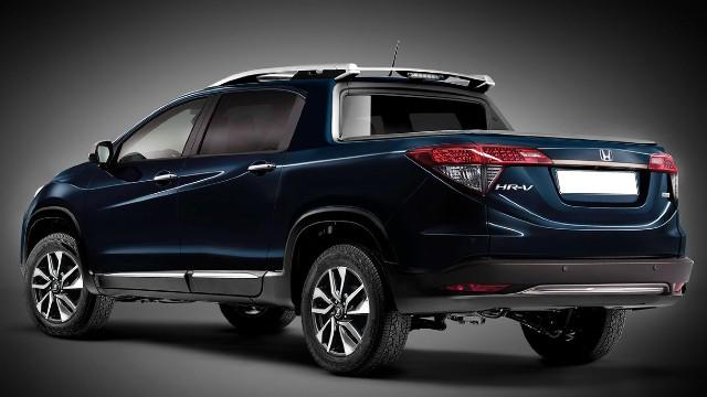 2021 Honda Pickup Truck styling