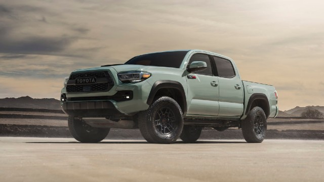 2021 Toyota Tacoma TRD Pro changes