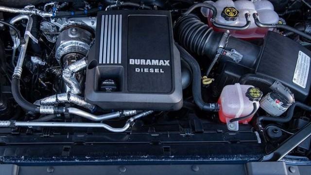 2022 Chevrolet Silverado diesel