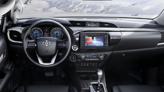 2022 Toyota Hilux Hybrid interior