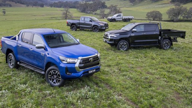 2022 Toyota Hilux Hybrid redesign