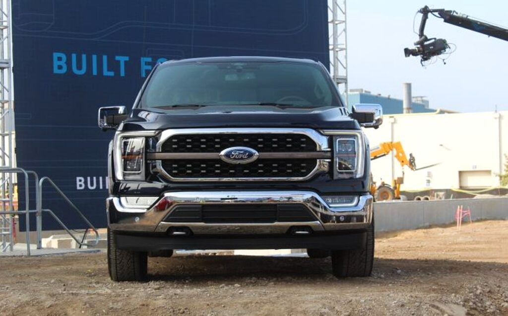 2021 Ford F-150 King Ranch release date