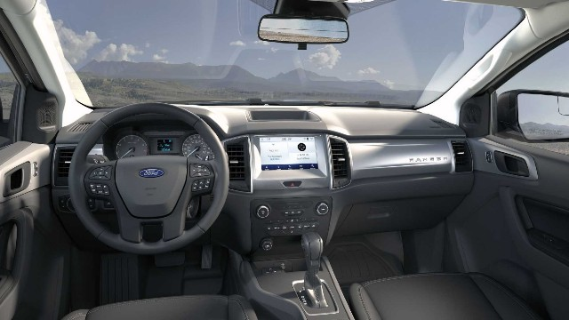 2021 Ford Ranger STX interior