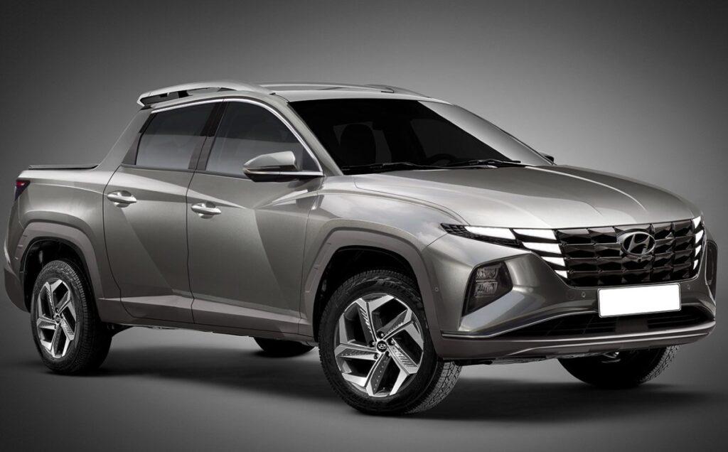 2021 Hyundai Tucson Pickup Truck Render