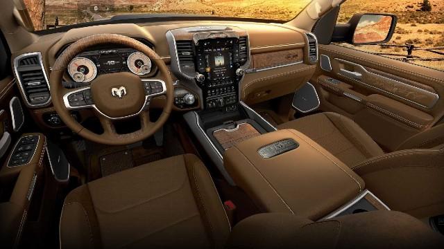 2021 Ram 1500 10th Anniversary Edition interior