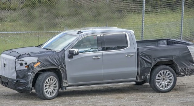 2022 GMC Sierra Denali changes