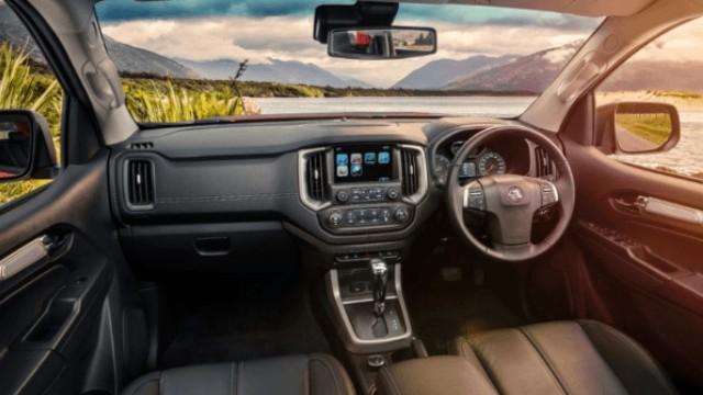 2022 Holden Colorado interior
