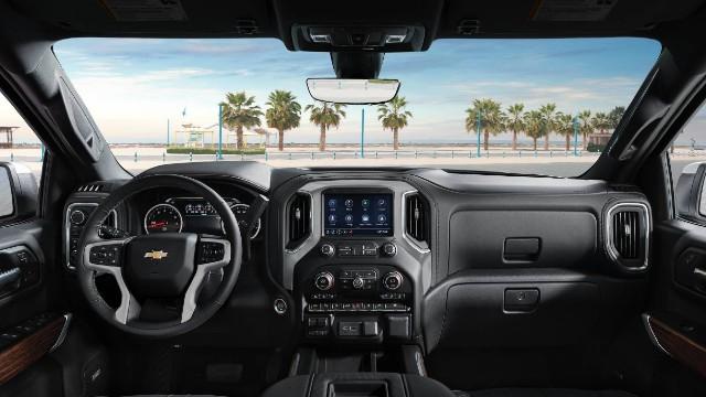 2022 Chevrolet ZRX interior