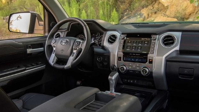 2022 Toyota Tundra Diesel interior