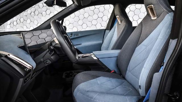 2022 BMW Pickup Truck interior