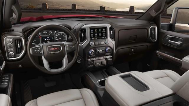 2022 GMC Sierra 3500HD interior