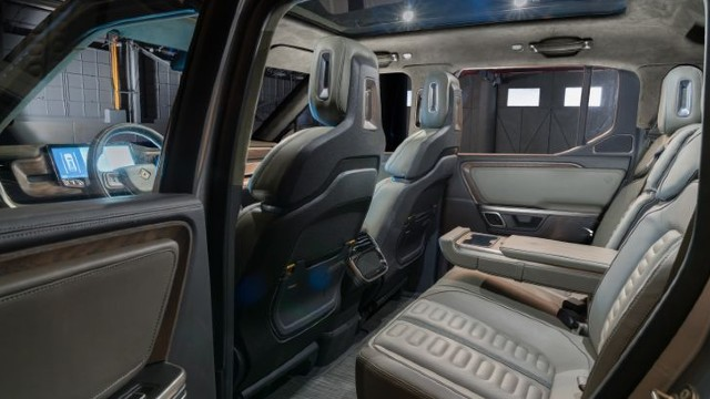 2022 Rivian R1T interior