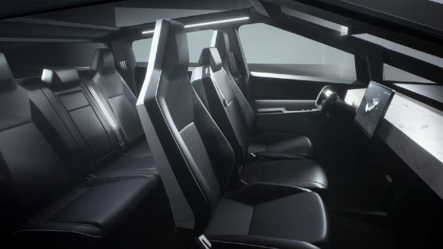 2022 Tesla Cybertruck Interior