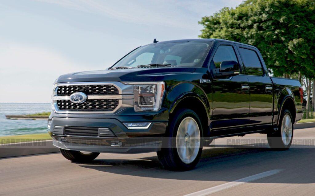 2022 Ford F-150 Diesel price