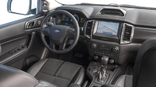 2022 Ford Ranger Tremor interior