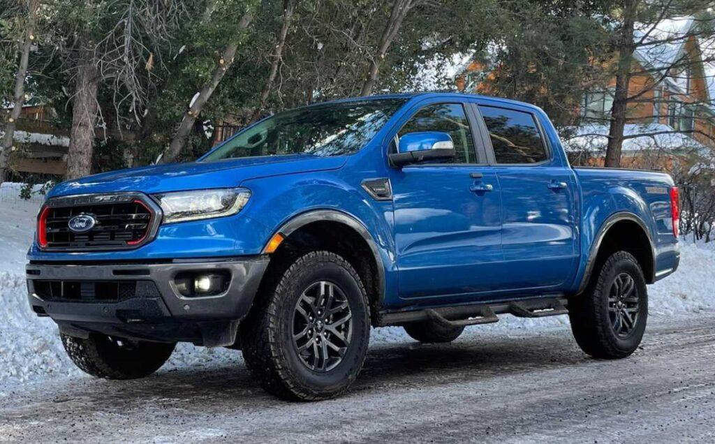 2022 Ford Ranger Tremor package