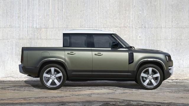 2022 Land Rover Defender Pickup Truck design