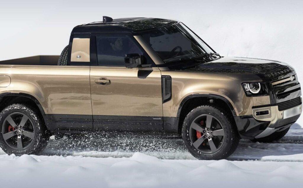 2022 Land Rover Defender Pickup Truck release date