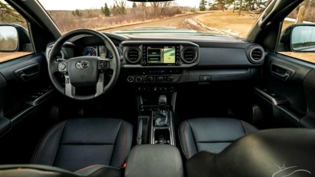 2022 Toyota Tacoma Hybrid interior