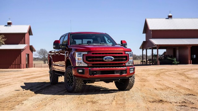 2022 Ford Super Duty colors