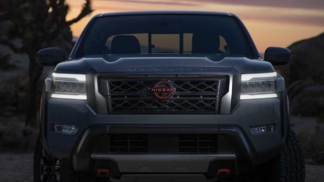 2022 Nissan Frontier Pro-X design